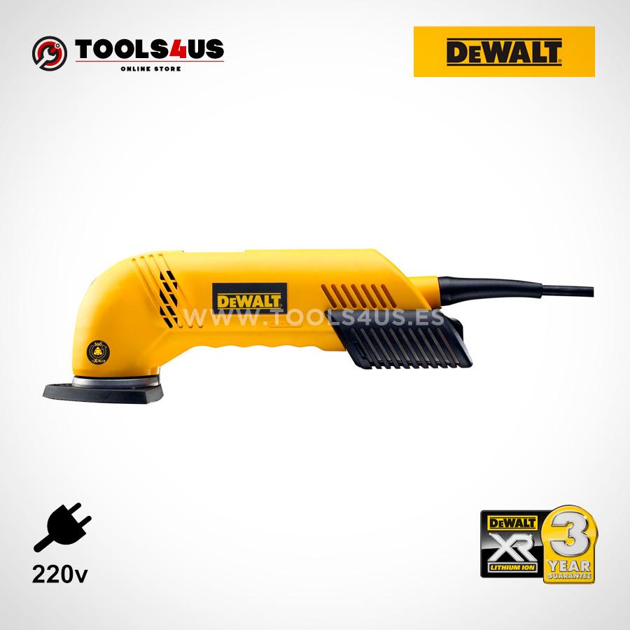 D26430 DeWalt Lijadora de detalles 300W DeWalt herramientas profesionales oferta online profesional 03 - Lijadora de detalles 300W DeWalt D26430