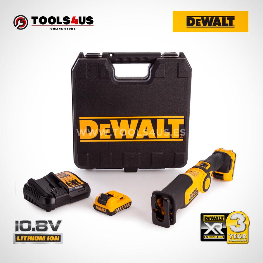DCS310D2 QW DEWALT sierra sable a bateria 10 8v herramientas profesionales 04   - Sierra Sable XR 10,8V LI-ION 2,0AH DeWalt DCS310D2