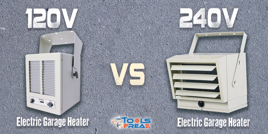 Electric Garage Heater 120V vs 220V