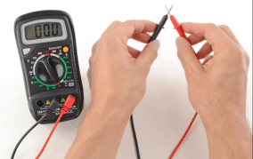 Check the Multimeter before Use
