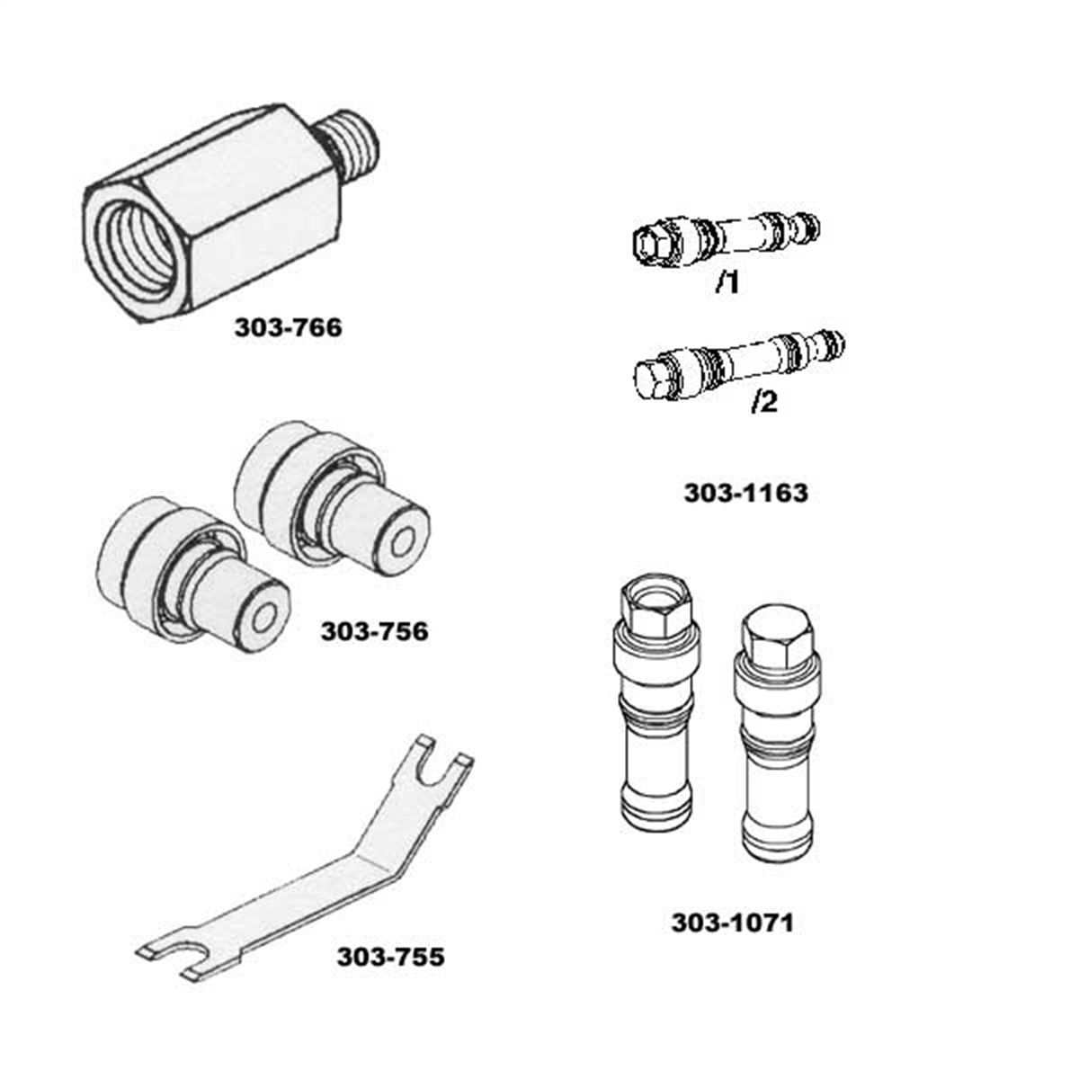Fuel Injector Rail Pressure Kit 6l