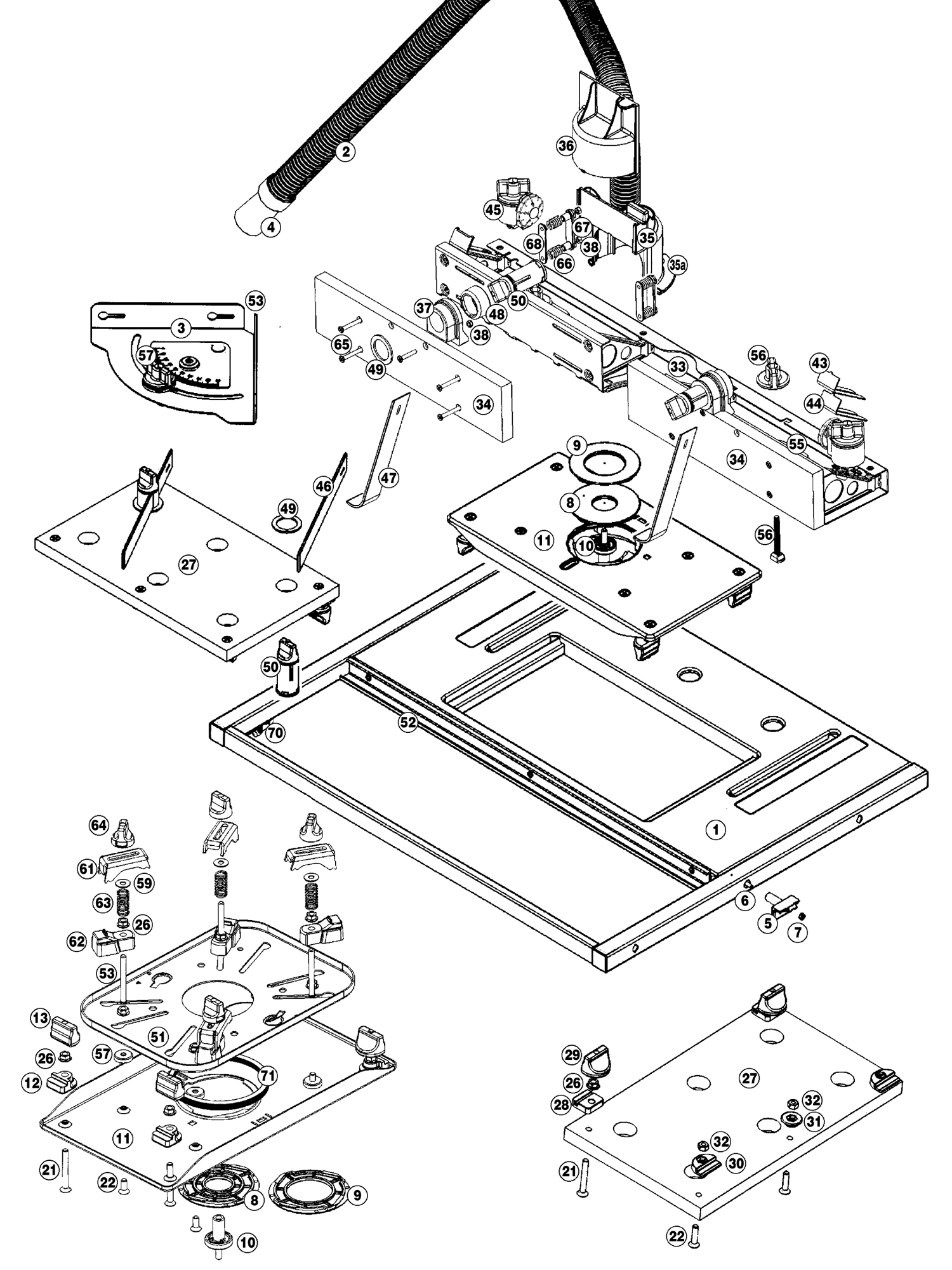 Tool Spares Online Precision Router Table