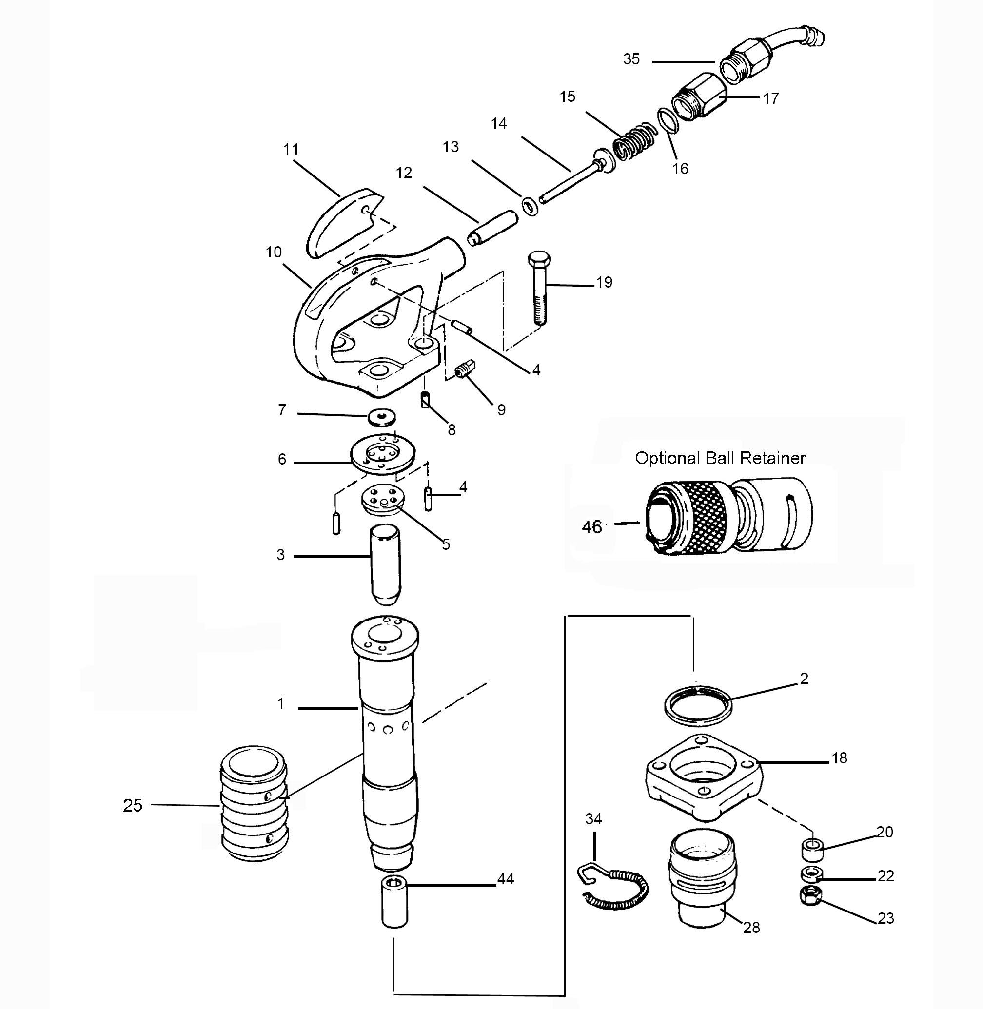 Tex 320 Amp Tex 420 Chipping Hammer