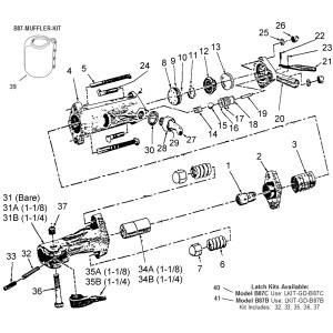 B87C 90lb Paving Breaker | Page 1 of 1