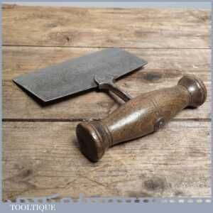 Vintage Kitchenalia 19th c Herb Cutter - Country House Steel Chopper