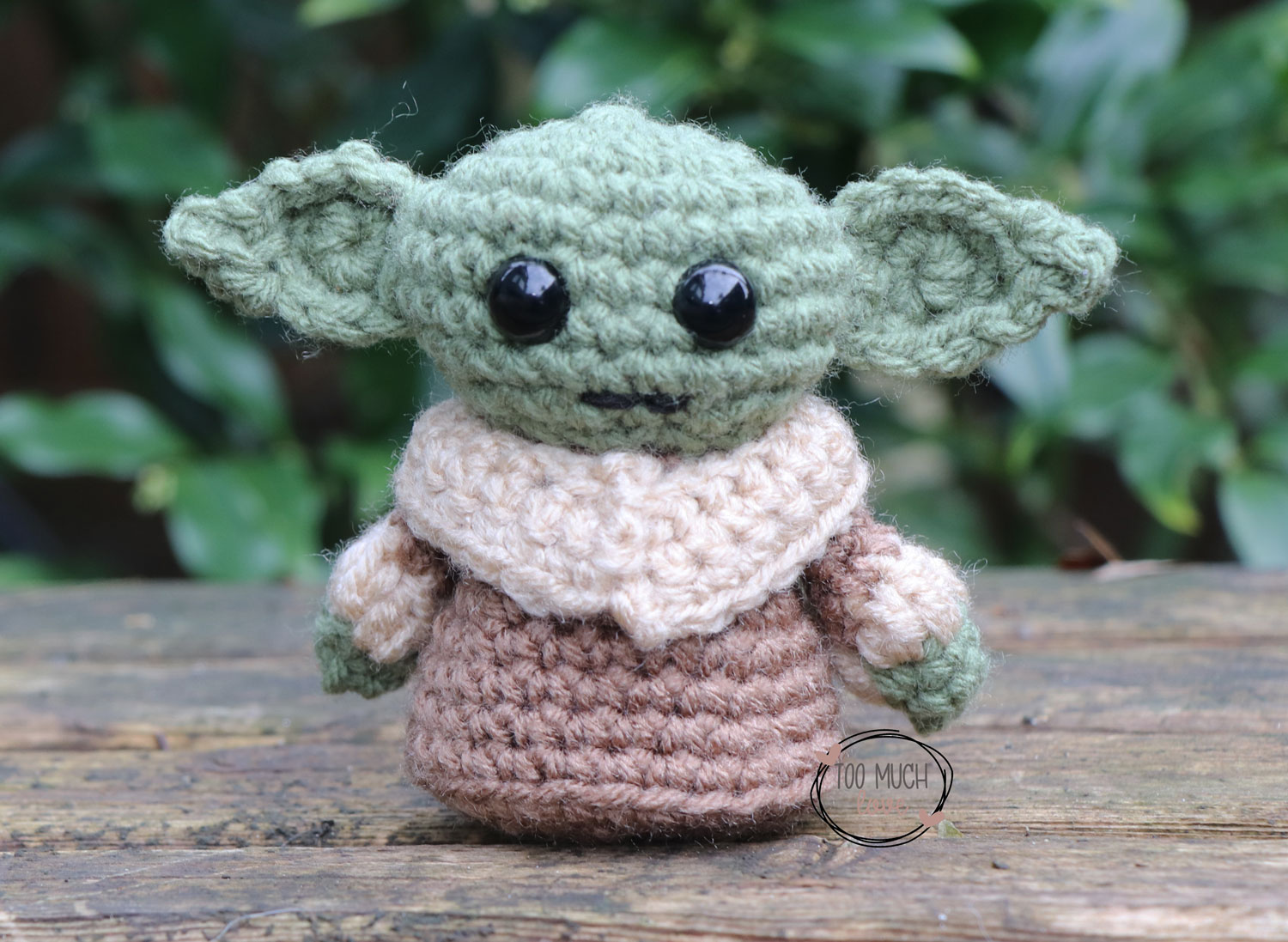 FO] Just finished this Yoda amigurumi! (info in comments) : crochet | 1097x1500