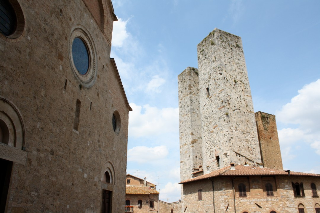San Gimignano, The Duomo and the towers