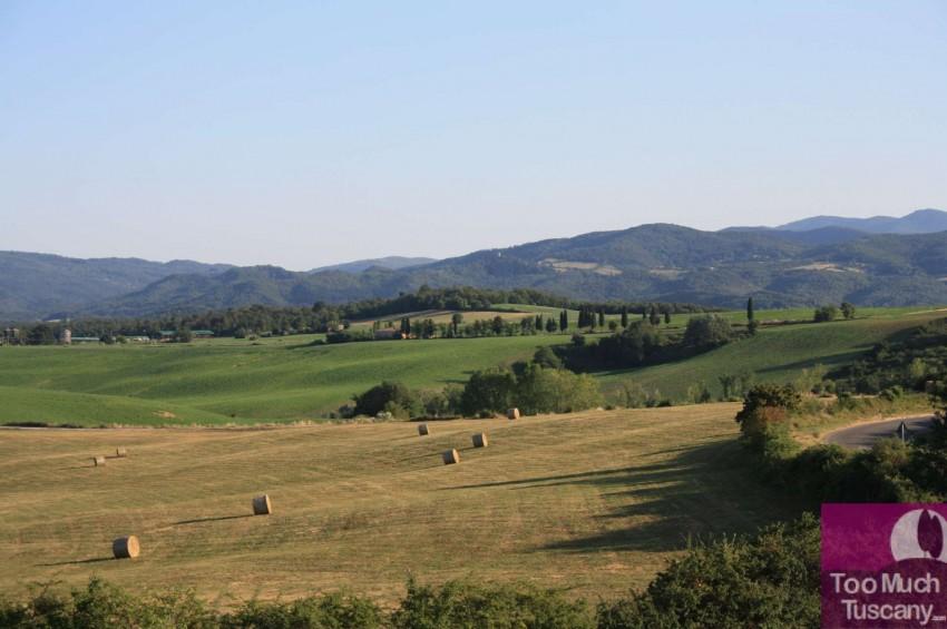 Surroundings of Montaccianico