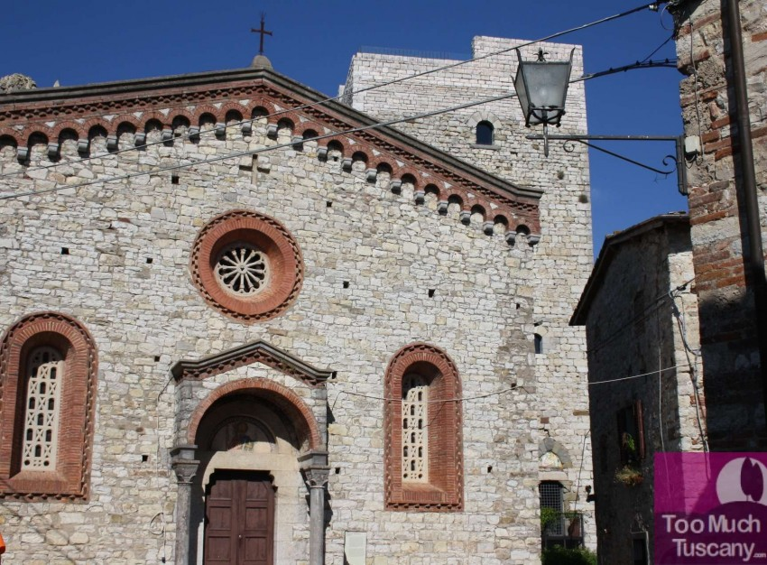 Church of San Bartolomeo a Vertine
