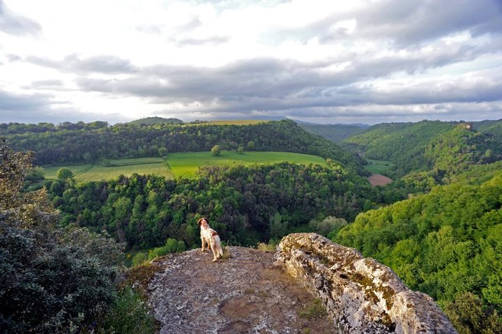 View from Pitigliano
