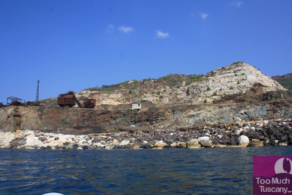 The mines from the sea