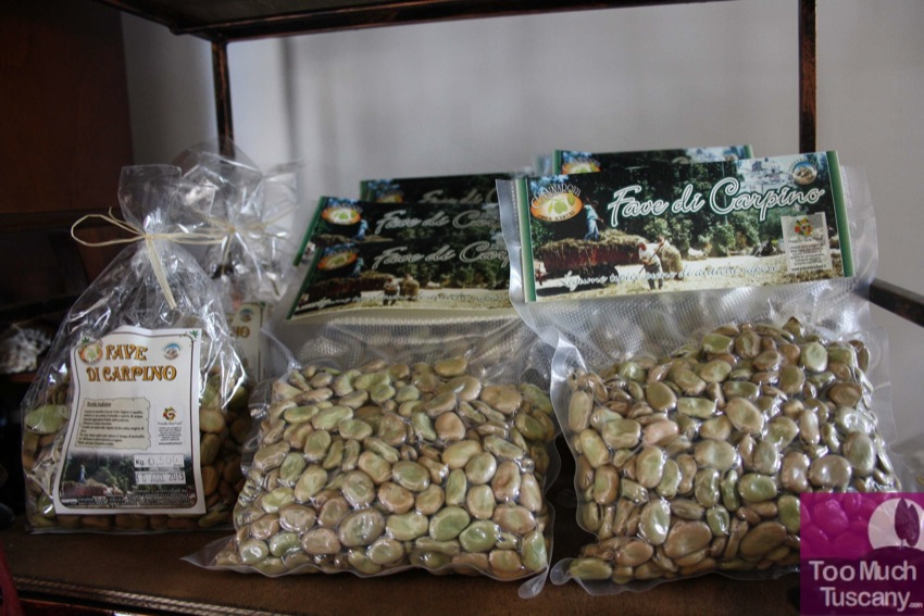 Typical Fava bean from Carpino by Cannarozzi farm