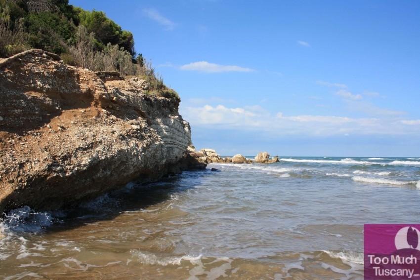 Calenella beach
