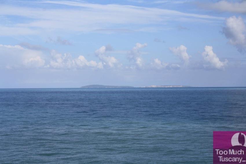 Tremiti Islands from Torre Melito