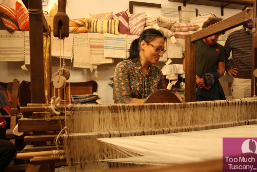 Maria, the traditional weaver