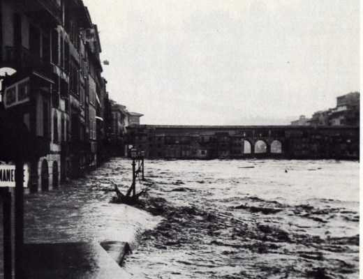 Ponte Vecchio during the Flood