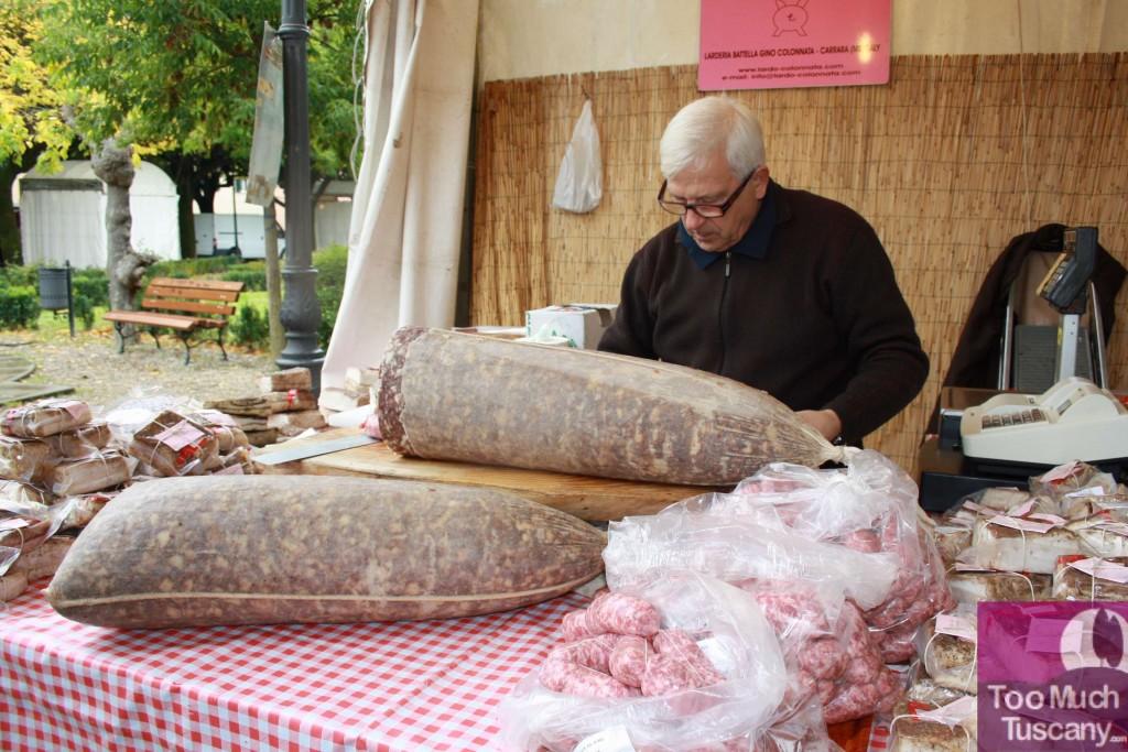 Food fair in Tuscany
