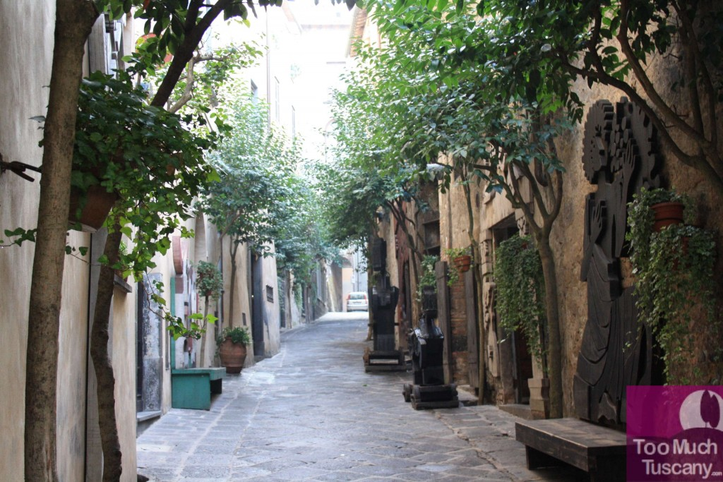 Streets in Orvieto