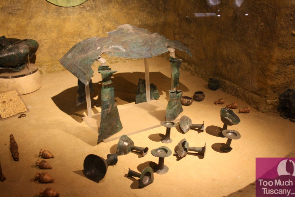 Tomb of an Etruscan prince