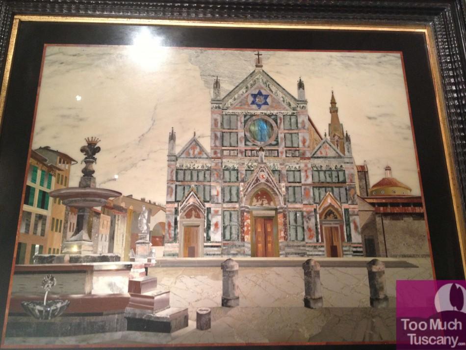 Santa Croce Church, Commesso Fiorentino