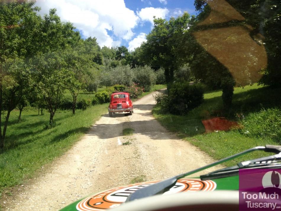 500 Fiat car tour