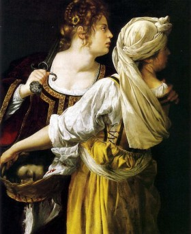 Artemisia Gentileschi, Judith