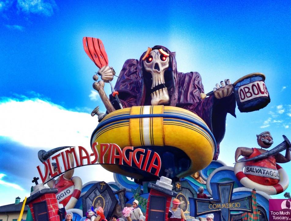 The Last Beach - Carnevale di Viareggio 2014