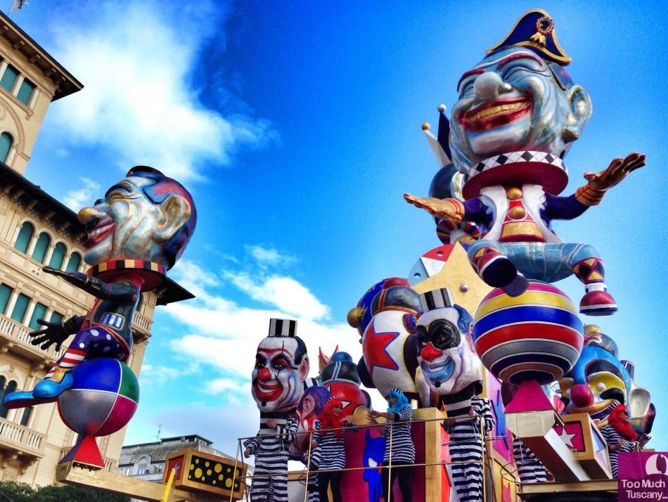 The Carnevale di Viareggio
