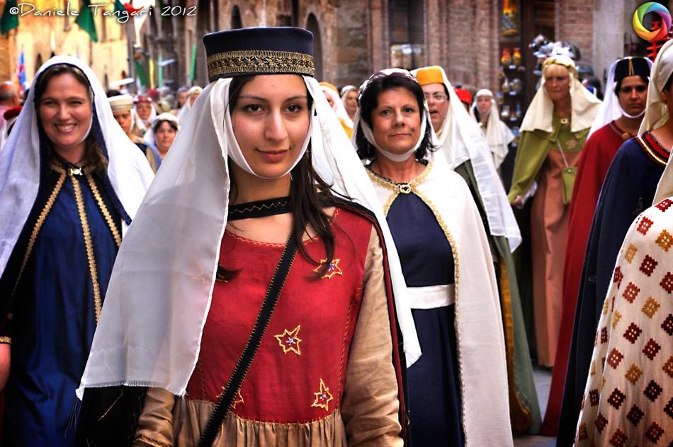 The colorful parade of Fiera delle Messi