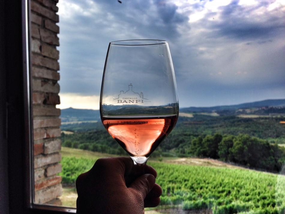 Wine tasting in Valdorcia