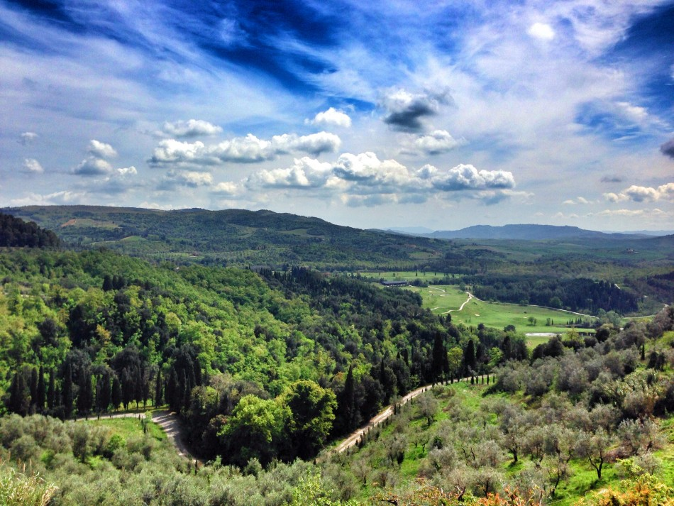 View from Castelfalfi