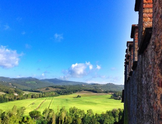 View from Montalto Castle
