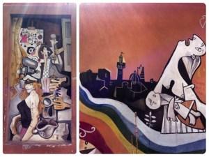 Street art in Siena