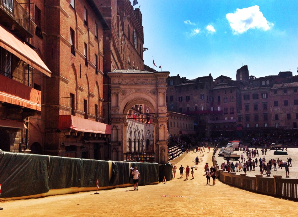 Piazza del Campo during Palio