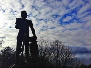Ghino di Tacco statue in Radicofani