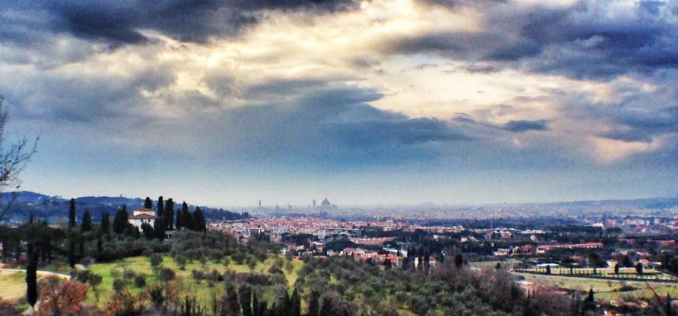 Florence from Bagno a Ripoli surroundings