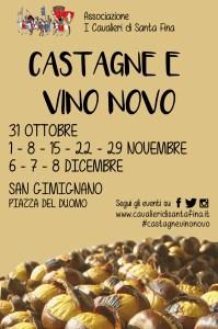 Castagne e vino novo