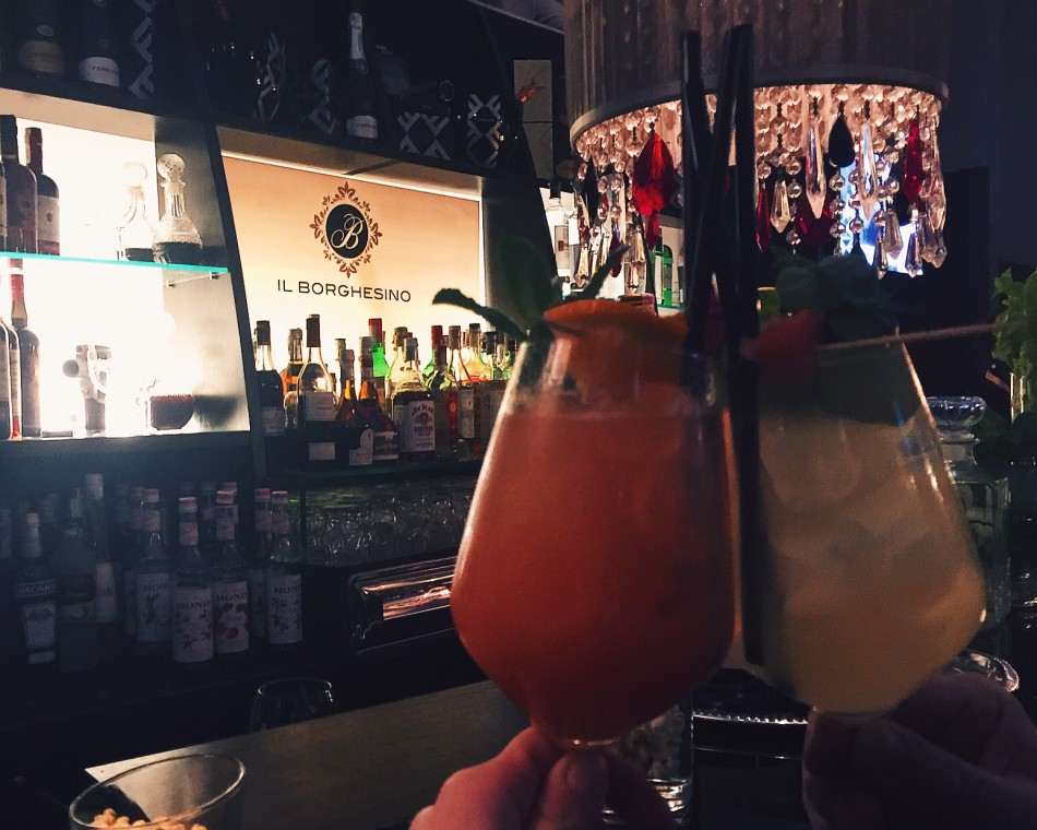 Cheers to Borghesino