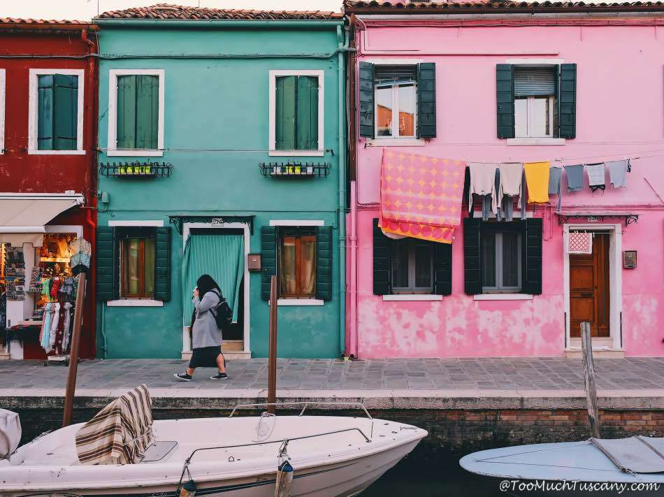 Burano, the island of colors near Venice