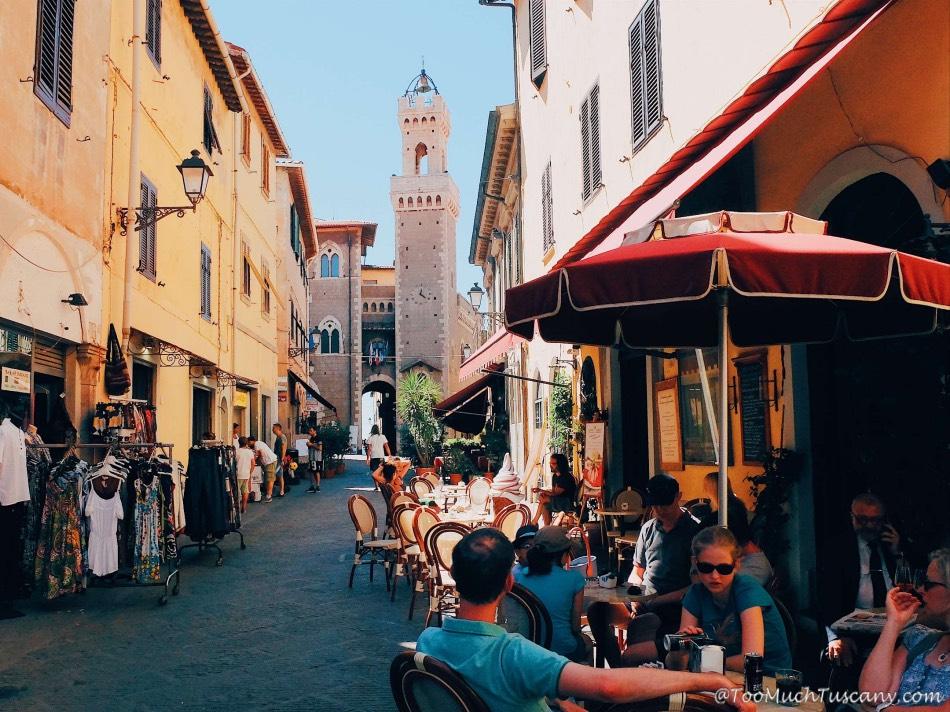 Piombino - the historical center