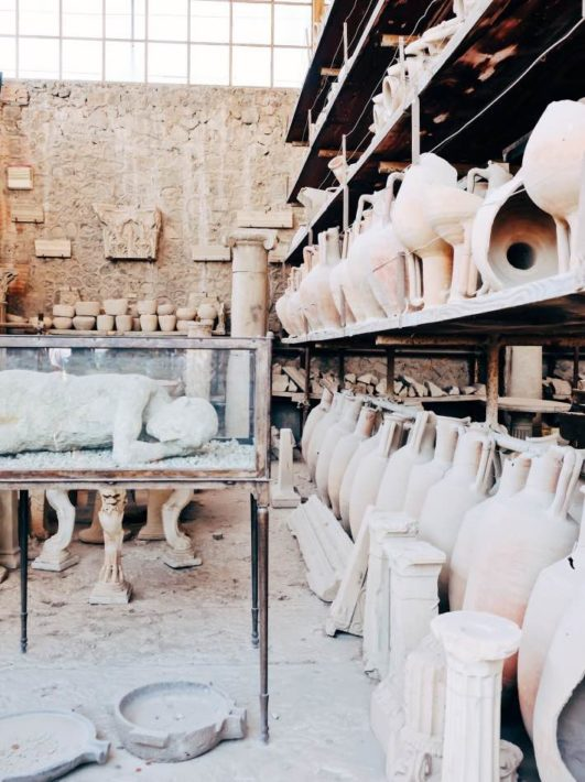 The Granary of Pompeii
