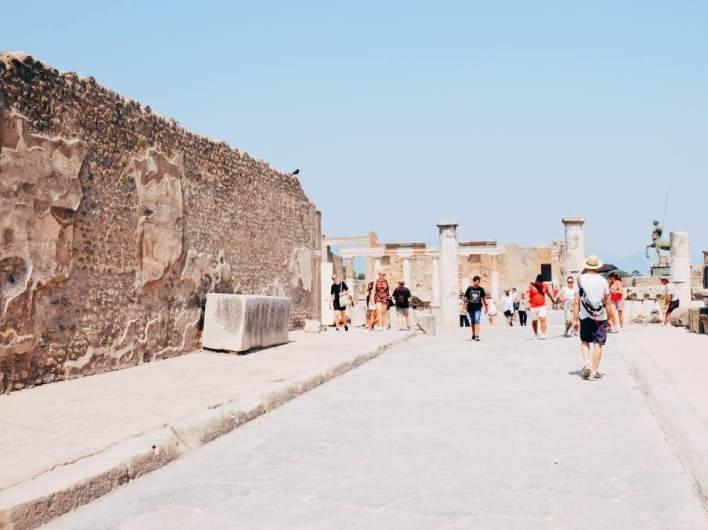 Approaching the Forum