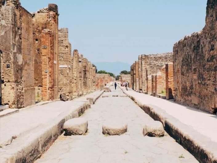 The roads of Pompeii