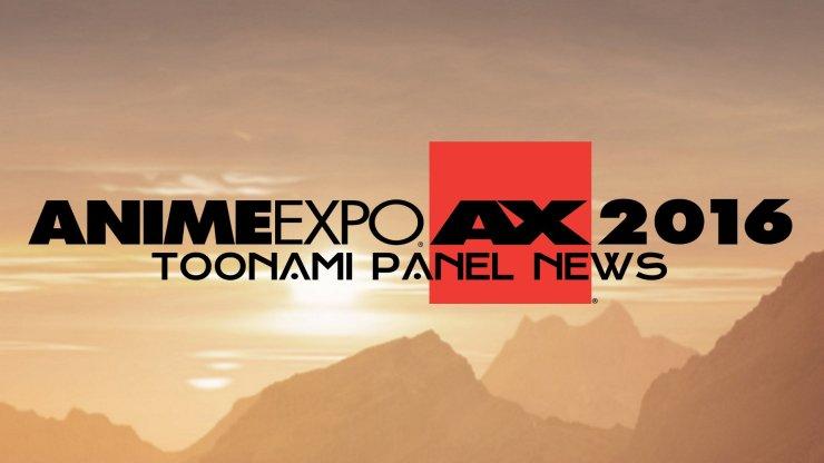 Anime Expo 2016 Toonami Panel