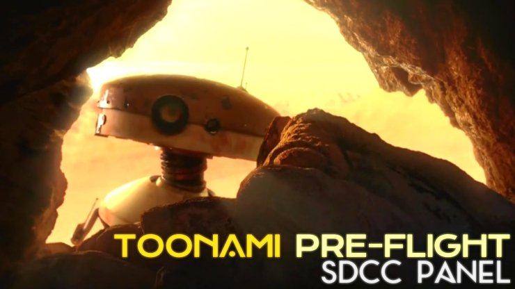 Toonami Pre-Flight SDCC Panel