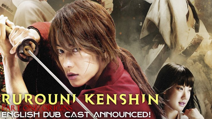 Rurouni Kenshin Part One Origins English Dub Cast Announced