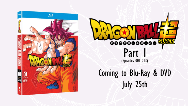 dragon ball super part 1 blu ray dvd available for pre order from