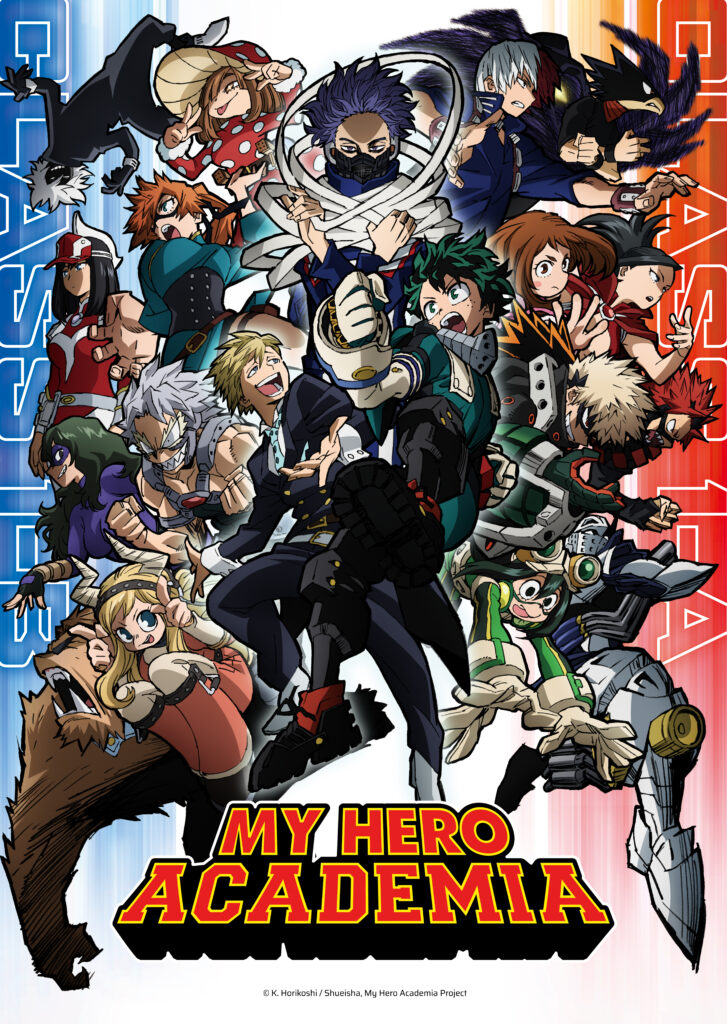 My Hero Academia will return to Toonami for the premiere of its highly anticipated fifth season beginning May 5.