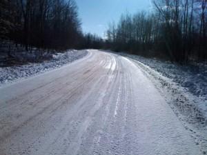 Some curvy roads too