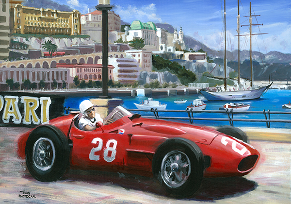 Monaco 1956 Stirling Moss Maserati 250F
